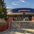 PLYMOUTH, MICHIGAN - APRIL 1: USA Hockey Arena main entrance of the 2017 IIHF Ice Hockey Women's World Championship. (Photo by Minas Panagiotakis/HHOF-IIHF Images)