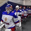 PLYMOUTH, MICHIGAN - APRIL 6: Russia's Maria Sorkina #69 leads her team to the ice prior to placement round action against team Sweden at the 2017 IIHF Ice Hockey Women's World Championship. (Photo by Minas Panagiotakis/HHOF-IIHF Images)